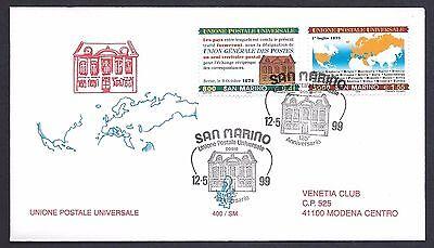 Briefmarken HöChste Bequemlichkeit Neue Mode San Marine 1999 Fdc Venetien Club U.u P Europa