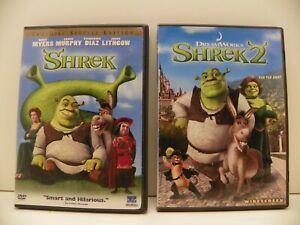 Dreamworks Shrek Shrek 2 Dvd Ebay