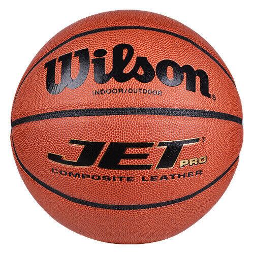Wilson NCAA Hoop Fanatic Basketballs Pack of 5 Balls Official Size RRP £75