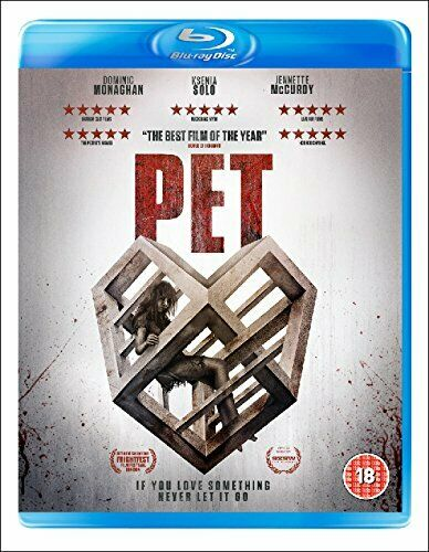 Pet      Blu-ray     Brand new and sealed