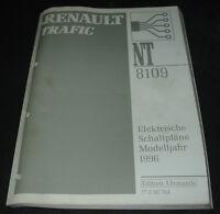 Werkstatthandbuch Elektrik Renault Trafic I elektrische Schaltpläne ab 1996!