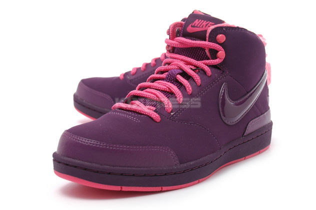New NIKE 454235-600  Wine Women's Style Mid SL Wine  Sky Pink Shoes Sz 7 f10a48