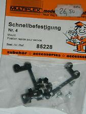 vintage MULTIPLEX 85228 Schnellbefestigung FIXATION servo holder SUPPORT mount