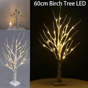Easter Tree With Lights White Light Up Twig Tree Decorations For