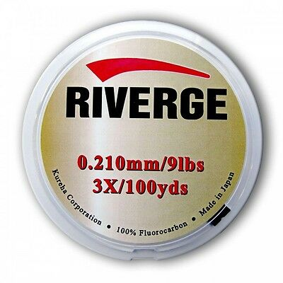 Riverge GRAND MAX New SEAGUAR Fluorocarbon Leader TIPPET Carp Trout Fly Fishing
