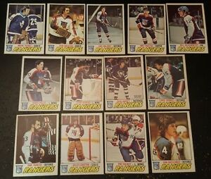 1977-78-OPC-NEW-YORK-RANGERS-Select-from-LIST-NHL-HOCKEY-CARDS-O-PEE-CHEE
