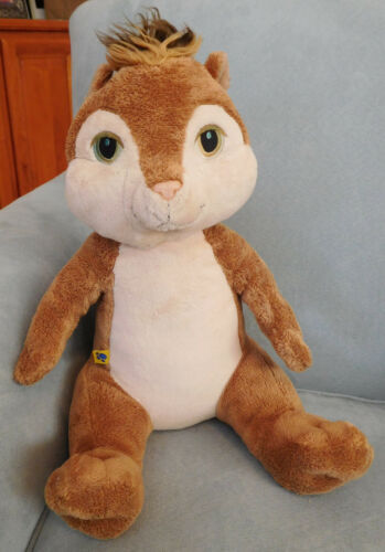 """13"""" BABW ALVIN and the CHIPMUNKS Plush Stuffed Animal Doll Clean Laundered"""