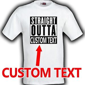 Straight outta compton shirt customized with any city of for Straight from the go shirt