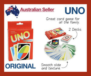 x-2-Decks-UNO-Playing-Cards-Card-Board-Game-Attack-Family-Games-Indoor-Original
