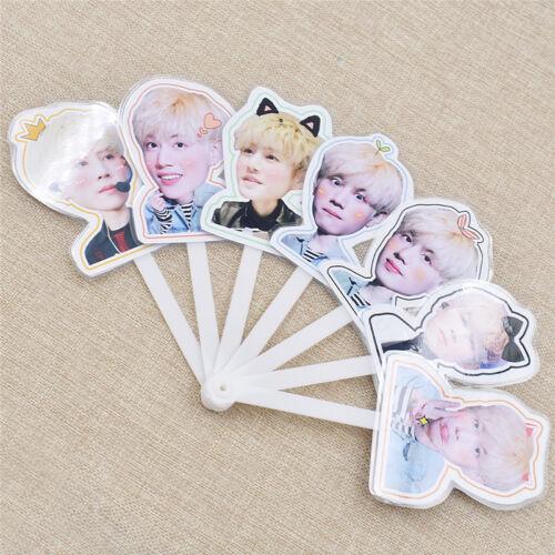 Kpop Design Portable Mini Hand Fan Summer Portable GOT7 Member Jackson JB Mark