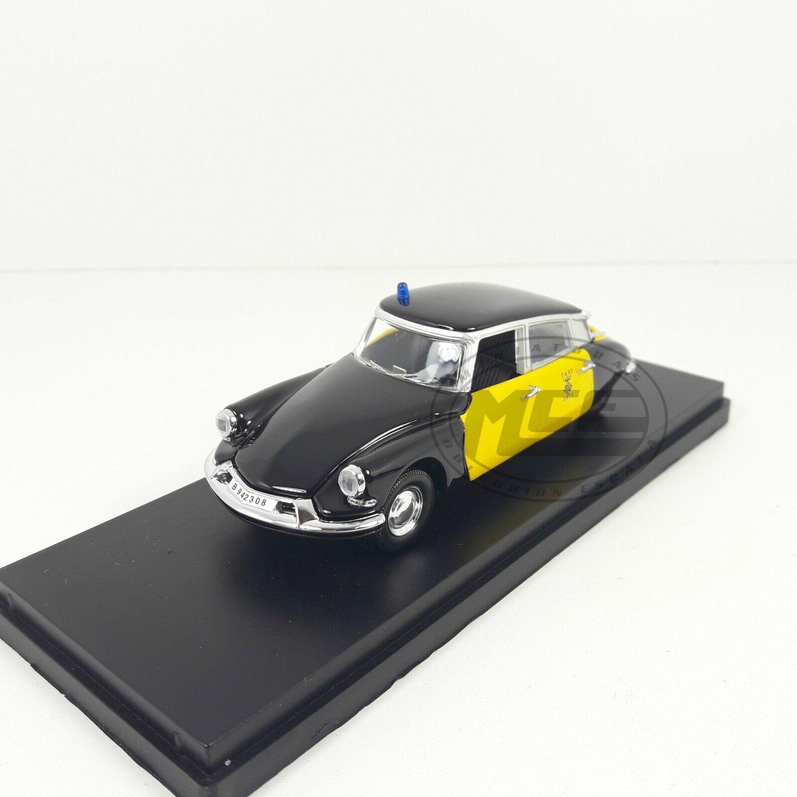 1 43 citroen ds 19 taxi barcelona 1969 rio models