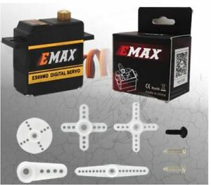 Emax-ES09MD-Numerique-Metal-Gear-Mini-Servo-15g-0-08s-2-6kg-Roulement-a-Bille