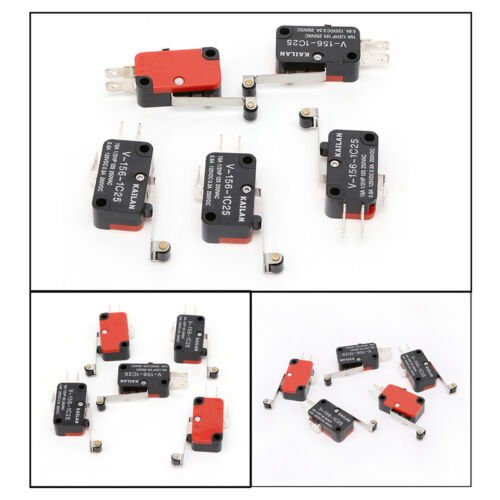 Business & Industrial 10PCS Micro Switch Spdt Hinge Roller Lever ...