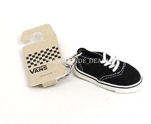Image is loading NEW-Vans-Black-Mini-Slip-On-Shoe-Keychain 2df90487444e