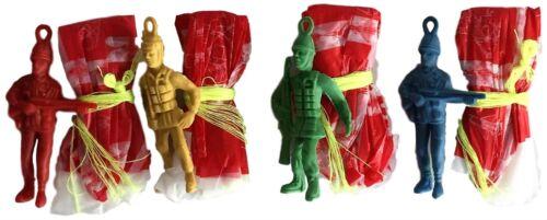 Bulk Lot 24 x Parachute Man Paratroopers Army Soldier Battle Toy Party Favor New