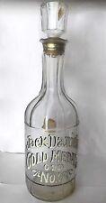 Vintage Jack Daniels Gold Medal Old No. 7 Bottle Decanter