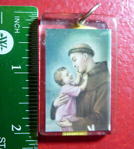 Collectible-Plastic-Keyring-St-Francois-D-039-assise-Religious