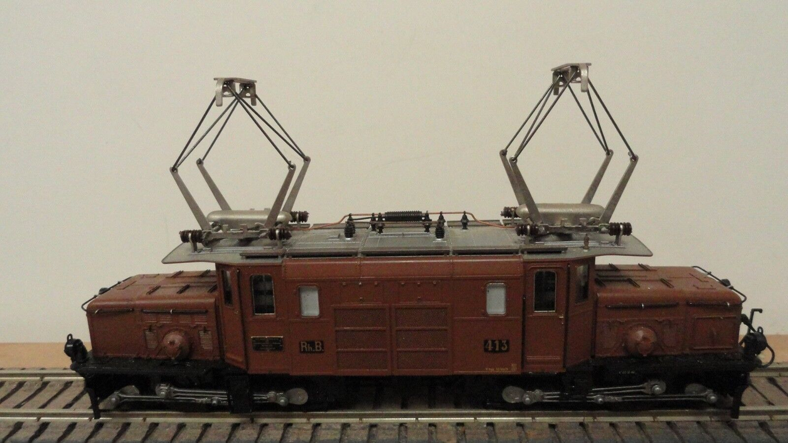 Bemo HOm J737 RhB  413 Ge 6/6 I  Crocodile  electric loco. No original box.