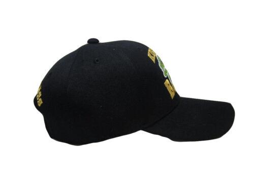 Kiss My Bass Fisihing FIsh Redneck Black Embroidered Baseball Ball Cap Hat