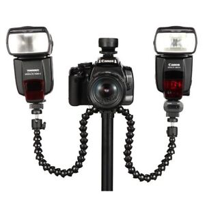 Octopods-arm-Macro-Flash-bracket-mount-holder-for-Canon-Nikon-speedlite-Camera