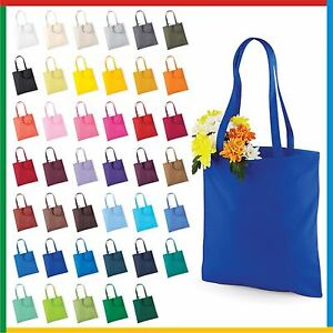 BAG FOR LIFE with LONG HANDLES 100% Cotton Capacity 10 Litres ... 0d897558dfbd3
