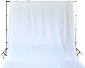Image Is Loading Photography Backdrop 5 X 9 Ft White 100