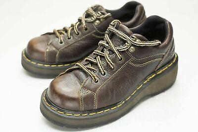 dr martens 6 brown platform shoes women's  ebay