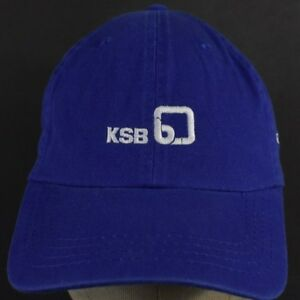 Blue KSB Pumps Co Logo Promo Embroidered Baseball Hat