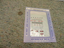 Microscale decals N 60-387 Delivery vans Mothers Cookies Earth Grains    L15