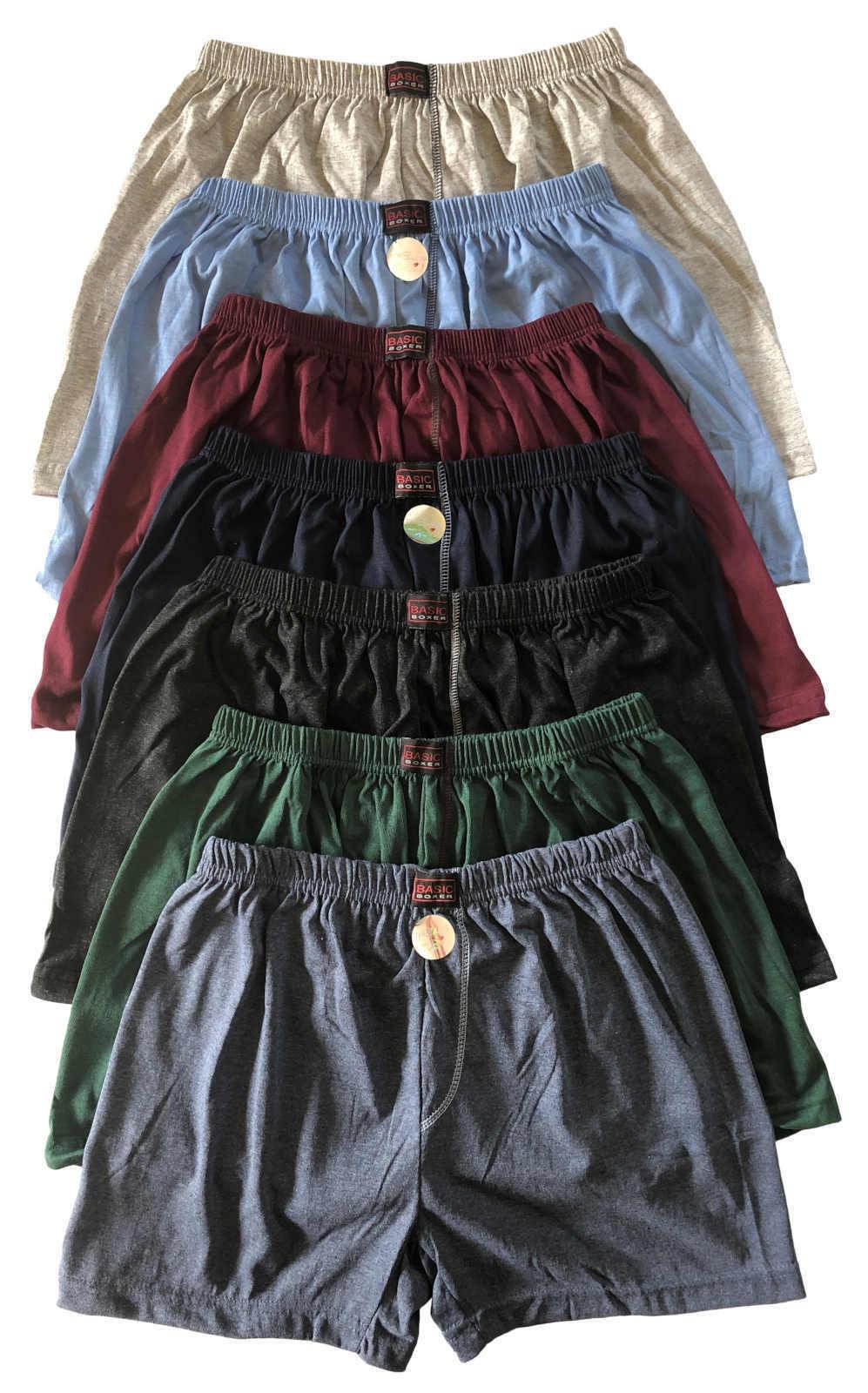 3-6-9-12 Stück Herren Boxershorts Unterhosen ohne Eingriff Übergröße Gr.5-13