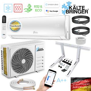 Kältebringer Split Klimaanlage Klimagerät Inverter 12000BTU Klima R32 3,4kW WLAN