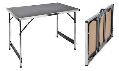 Alu Universaltisch 100x60cm - höhenverstellbar - Klapptisch Campingtisch Tisch