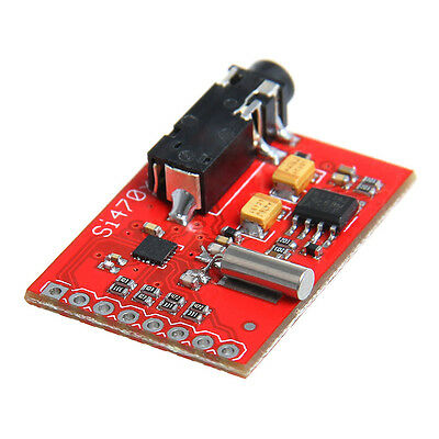 Si4703 FM RDS Tuner Silicon Breakout Evaluation Board For AVR ARM PIC Arduino