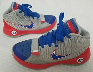 643a5c71a1a1 Nike KD TREY 5 III (GS) 768870-046 Kids Wolf grey  Red  Blue Youth ...