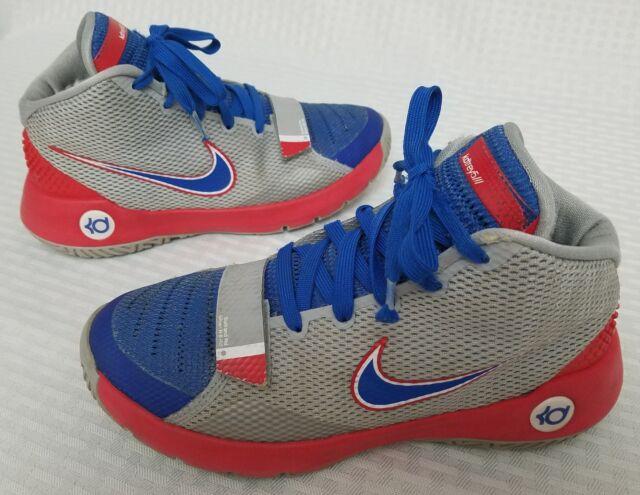 051e1ea012d8 Nike KD TREY 5 III (GS) 768870-046 Kids Wolf grey  Red  Blue Youth ...
