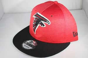 b9363a1a Details about New Era 950 On Field 18 Sideline Atlanta Falcons Snapback Cap  - Red (BNWT)