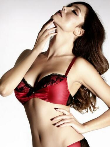 Ann Summers Lily BOW RED reggiseno-Varie Taglie * IN STOCK *