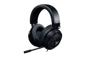 Razer Kraken 7.1 V2 Surround Gaming Headset for PC/Mac/PS4* Black Oval Ear Cushi