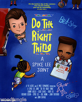 Do The Right Thing Danny Aiello 24X36 Premium Quality Poster Spike Lee