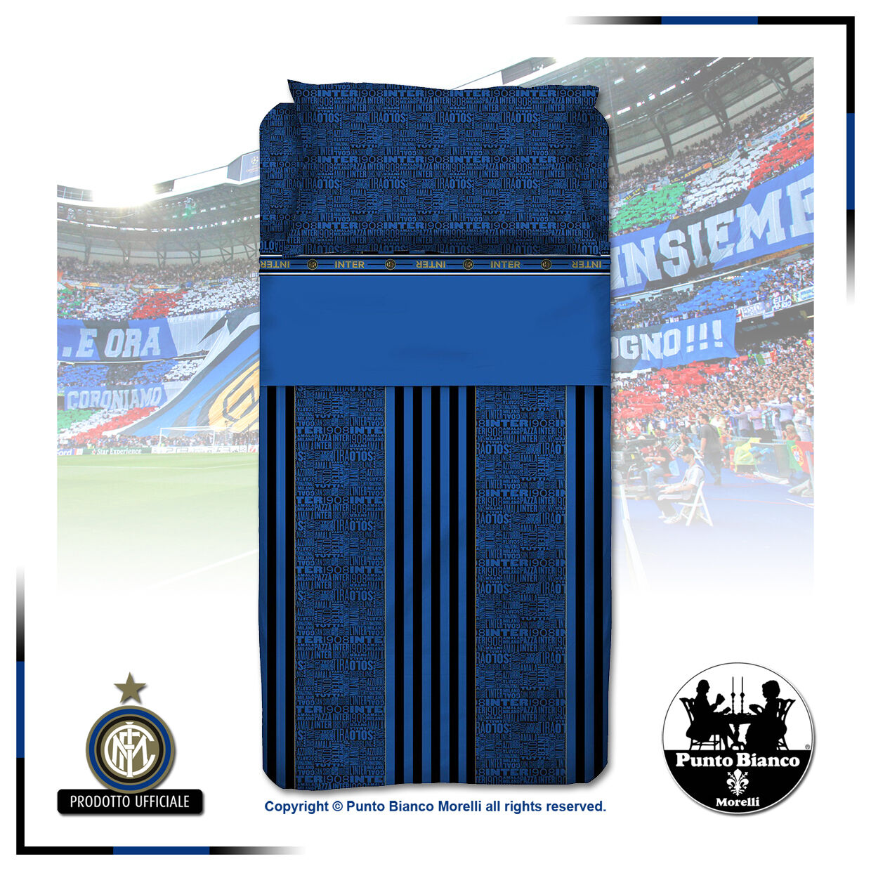 F.C. INTER   Completo lenzuola  Full bedsheets