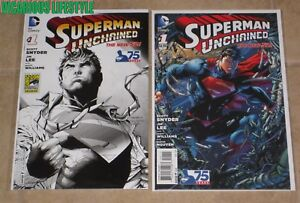 SUPERMAN UNCHAINED #5 REBORN VARIANT SCOTT SNYDER NM 1ST PRINT
