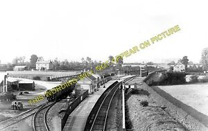 Image is loading Thornfalcon -Railway-Station-Photo-Taunton-Hatch-Ilminster-and-