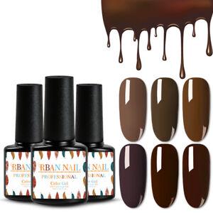 RBAN-NAIL-Nail-Art-Gel-Color-Polish-Soak-off-UV-LED-Manicure-DIY-Varnish-7ml