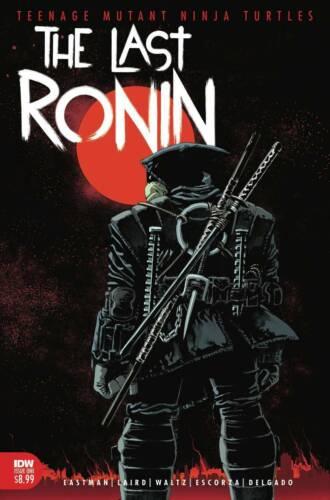TMNT THE LAST RONIN #1 IDW 1ST PRINT NINJA TURTLES COVER A