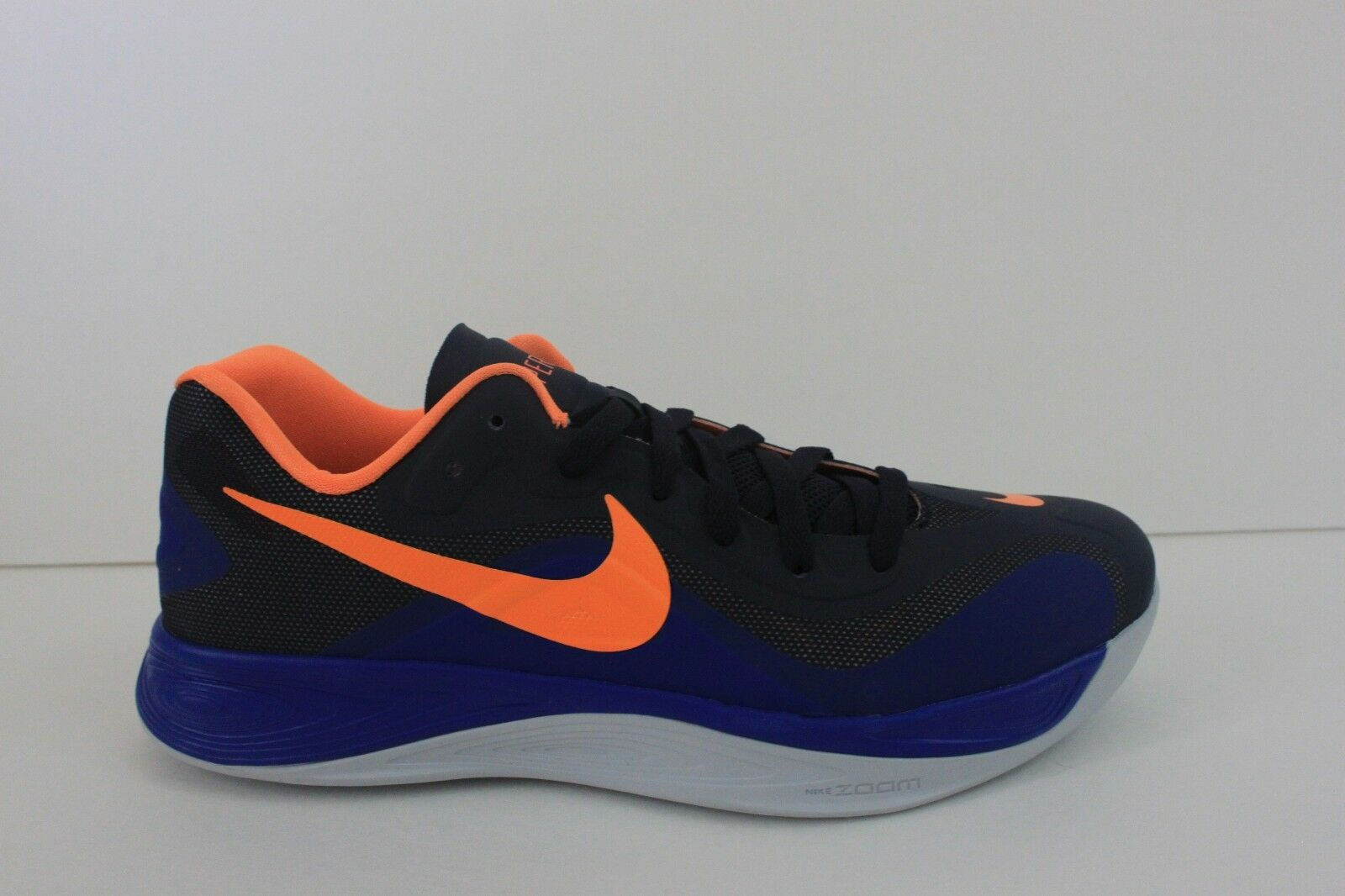 Nike Hyperfuse Shoe Size 10.5 M Men's Blue Basketball Athletic Sneaker NIB