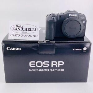 Canon EOS RP Body + adapter ef-eos R Fotocamera Digitale Mirrorless Usato