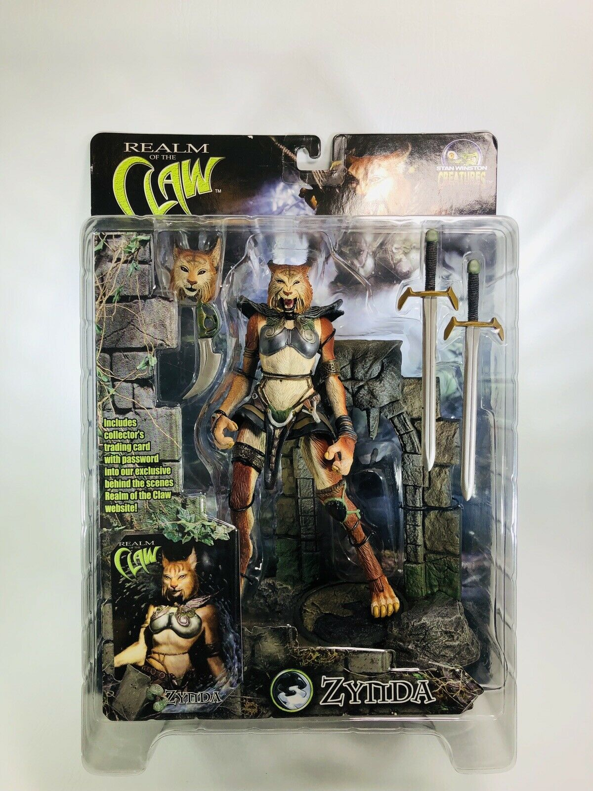 Stan Winston Creatures Zynda Realm Of The Claw Action Figure