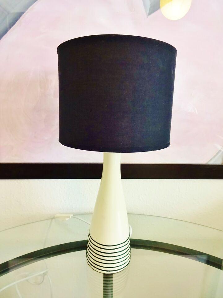 nyt stof på lampeskærm