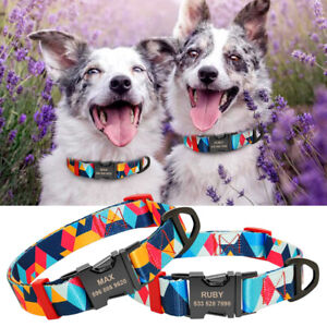 Personalised-Colorful-Dog-Collars-Pet-Name-ID-Laser-Engraved-with-Metal-Buckle