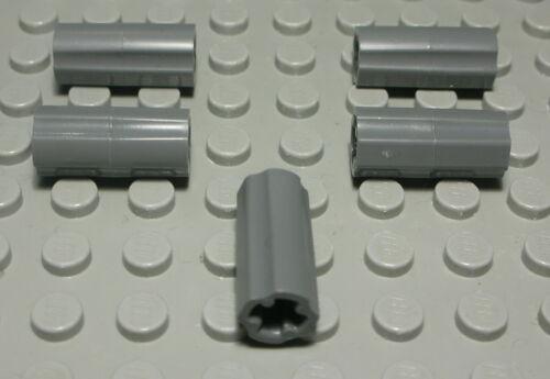 1261 Lego Technic Doppelverbinder für Kreuz Pin new Dunkelgrau 5 Stück